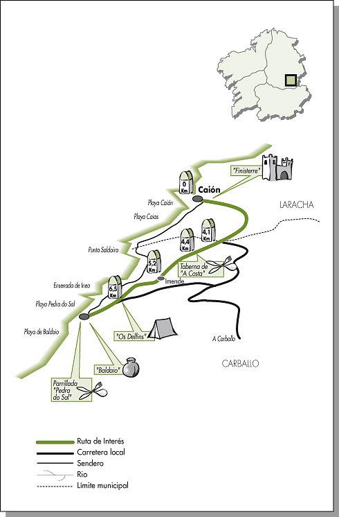 Ruta cicloturista Carballo