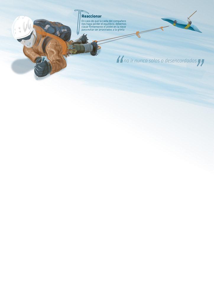 Rescate cordada Glaciar 2