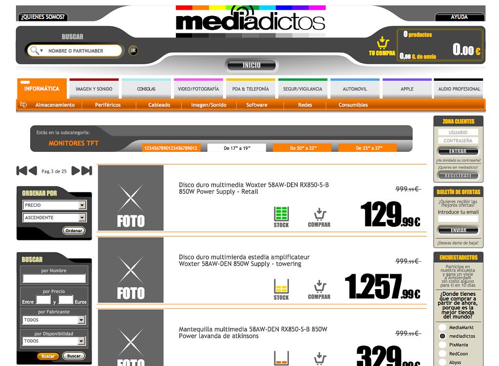 Web Mediadictos