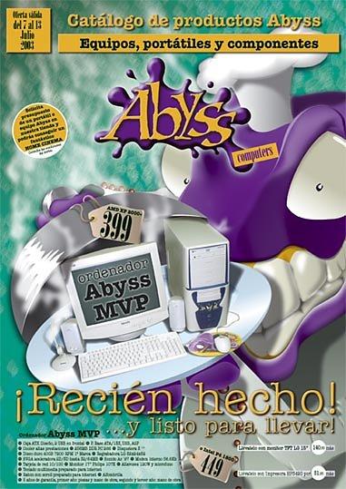 Publicidad Abyss Computers